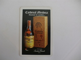 Drink Cardenal Mendoza Fournier Spanish Spain España Pocket Calendar 1985 - Calendriers