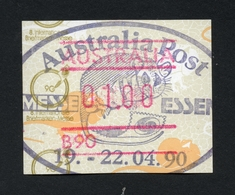 1990 ESSEN INTERNATIONALE BRIEFMARKEN MESSE AUSTRALIA POST LIZARD FRAMA LABEL 19 - 22.04.90 CANCELLED-TO-ORDER POSSUM - Vignettes D'affranchissement (ATM/Frama)