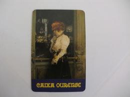Bank/Banque/Banco Caixa Ourense Spanish Fournier Pocket Calendar 1987 - Calendriers