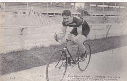 CPA Sport Cyclisme Coureur FRIOL Sprinter Français  Champion De France Et Monde Vélo Cycling Radsport (2 Scans) - Cyclisme