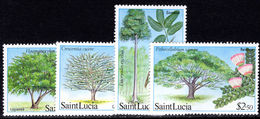 St Lucia 1984 Forestry Resources Unmounted Mint. - St.Lucia (1979-...)