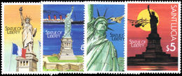 St Lucia 1987 Statue Of Liberty Unmounted Mint. - St.Lucia (1979-...)