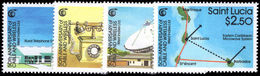 St Lucia 1988 Cable And Wireless Network Unmounted Mint. - St.Lucia (1979-...)
