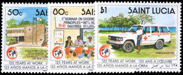 St Lucia 1989 Red Cross Unmounted Mint. - St.Lucia (1979-...)