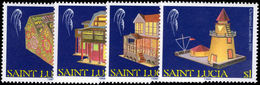 St Lucia 1989 Christmas Unmounted Mint. - St.Lucia (1979-...)