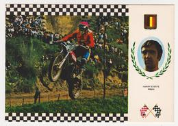 1314/ MOTOCROSS Harry Everts (Belgium) PUCH (Austria) 102 Kg (1975). Non écrite. Unused. Non Scritta. Ungelaufen. - Motociclismo