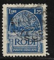 Italy Aegean Islands Rhodes Scott # 21 Used Crusaders Tomb, 1929 - Aegean (Rodi)