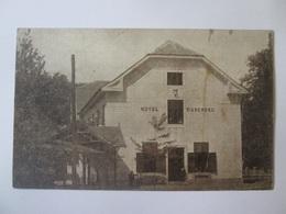 Romania/Buziaș(Timiș)-Hotel Muschong,unused Post Card From The 20s - Romania