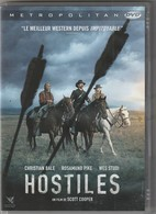 DVD  HOSTILES     Etat: TTB Port 110 Gr Ou 30 Gr - Western / Cowboy