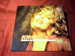 KIM  WILDE  °  WORLD IN PERFECT HARMONY - 45 T - Maxi-Single