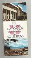 Publicité ,LES THERMES NATIONAUX Vous Acceuillent à AIX LES BAINS,45 Pages ,pub ,plan , 6 Scans ,frais Fr 2.75 E - Publicités