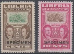 "LIBERIA - 1962 2c Ashmun Colour Trials Overprinted ""SPECIMEN"". Scott 333. MNH ** - Liberia"