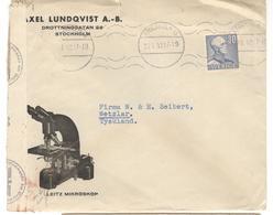 13841 - Enveloppe Comerciale Illustrée - Schweden