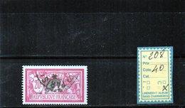 FRANCE OBLITÉRÉ - N° 208 - 1900-27 Merson