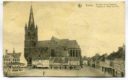 CPA - Carte Postale - Belgique - Eecloo - Eeklo - L'Eglise Et L'Hôtel De Ville ( DD7221) - Eeklo
