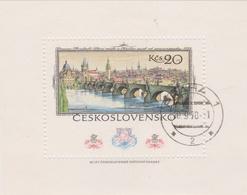 Czechoslovakia Scott 2196 1978 Praga International Stamp Expo, Souvenir Sheet, Used - Czechoslovakia