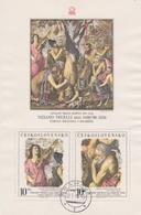 Czechoslovakia Scott 2197 1978 Titin, Souvenir Sheet, Used - Czechoslovakia