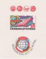 Czechoslovakia Scott 2226 1979 INTERCOSMOS Sheetlet, Mint Never Hinged - Blocks & Sheetlets
