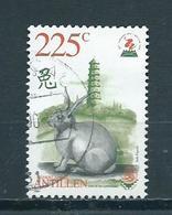 1999 Netherlands Antilles 225 Cent Rabbit,dieren,animals Used/gebruikt/oblitere - Curaçao, Nederlandse Antillen, Aruba