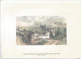 Publicité,LE PICTON,revue Régionale , Gravure  Du XIX E Siècle : Poitiers Et Le Pont Joubert  ,2 Scans ,frais Fr 1.75 E - Publicités