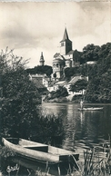 MONTMORILLON   ( 86 )   Notre-Dame D'une Rive De La Gartempe  ( CPsm, Dentelée N Et B ) - Montmorillon