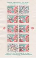 Czechoslovakia Scott 2383 1981 Antismoking Campaign, Sheetlet, Used - Blocks & Sheetlets