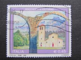 *ITALIA* USATI 2005 - TURISTICA ROCCHETTA A VOLTURNO - SASSONE 2825 - LUSSO/FIOR DI STAMPA - 6. 1946-.. Repubblica