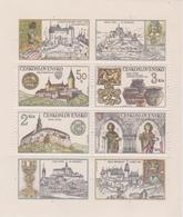 Czechoslovakia Scott 2418a 1982 Krivoklat Castle, Sheetlet, Mint Never Hinged - Blocks & Sheetlets