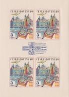 Czechoslovakia Scott C65 1967 Air Mail Praga 68 Stamp Expo, Sheetlet, Mint Never Hinged - Blocks & Sheetlets