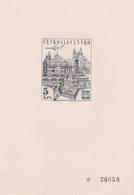 Czechoslovakia Scott C65 1968 Praga World Stamp Exhibition, 5k Proof, Mint Never Hinged - Czechoslovakia