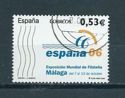 2005 Spain Espana'06 Malaga Used/gebruikt/oblitere - 1931-Heute: 2. Rep. - ... Juan Carlos I