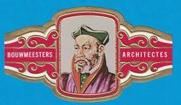 1 BAGUE DE CIGARE GRAND FORMAT BOUWMEESTERS ARCHITECTES PHILIBERT DELORME FRANKRIJK FRANCE  (  119 MM ) - Bagues De Cigares