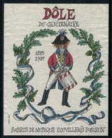 Rare // Etiquette De Vin //  Musique // Dôle, 100 Ans , Société De Musique Ecuvillens-Posieux - Music