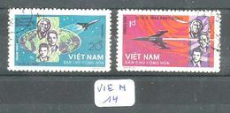 VIE N YT 417/418 En Obl - Viêt-Nam