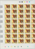 Faciale 18.40 Eur ; Feuille De 40 Tbs à 0.46 N° 3491 (cote 40 Euros) - Feuilles Complètes