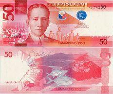 PHILIPPINES      50 Piso      P-207a       2016H       UNC - Filippine