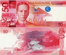 PHILIPPINES      50 Piso      P-207a       2013      UNC - Filippine