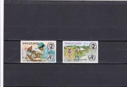Swaziland Nº 202 Al 203 - Swaziland (1968-...)