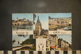 CP,  45, GIEN - Souvenir De GIEN  - Multivues - Gien