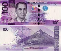 PHILIPPINES      100 Piso      P-208       2017F      UNC  [sign. Duterte-Tetangco] - Filippine