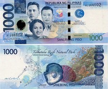 PHILIPPINES      1000 Piso      P-211a       2014      UNC - Filippine