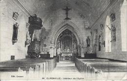 CLIPONVILLE Intérieur De L'Eglise - France