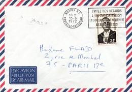 Nouméa RP 1972 - Flamme évitez Des Retards ... - Lettre Brief Cover - Nouvelle-Calédonie