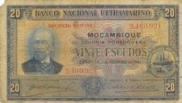 20 ESCUDOS 1941 - Mozambique