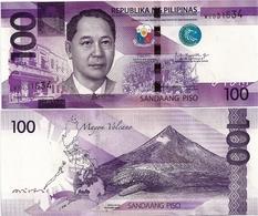 PHILIPPINES      100 Piso      P-New       2018      UNC  [sign. Duterte-Espenilla] - Filippine