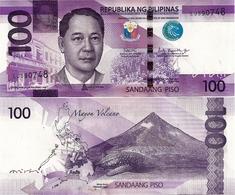 PHILIPPINES      100 Piso      P-New       2018A      UNC  [sign. Duterte-Espenilla] - Philippines