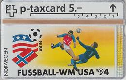SUISSE - PHONE CARD - °TAXCARD-PRIVÉE *RARE *** FOOT-USA 1994 - 16/24 *** - Svizzera