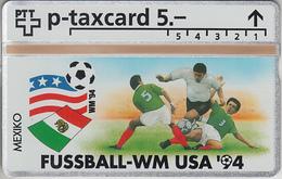 SUISSE - PHONE CARD - °TAXCARD-PRIVÉE *RARE *** FOOT-USA 1994 - 17/24 *** - Svizzera