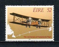 IRLANDE 1994  N° 876 ** Neuf MNH Petit Manque De Gomme D' Origine C 2.50 € Avions Planes 1 Er Vol Biplan Transports - 1949-... République D'Irlande