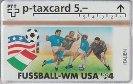 SUISSE - PHONE CARD - °TAXCARD-PRIVÉE *RARE *** FOOT-USA 1994 - 23/24 *** - Svizzera